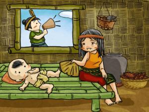 truyện cổ tích Thánh Gióng