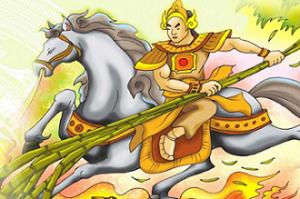 Hình ảnh truyện cổ tích Thánh Gióng